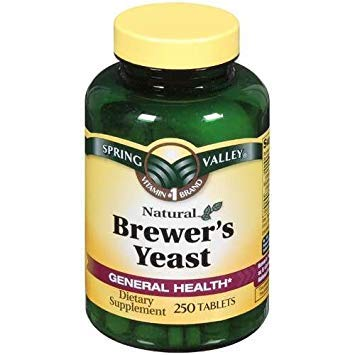 Spring Valley Brewers Yeast 250 TABLETS Brewers Yeast 250 Tablets