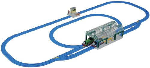 Thomas & Parsee Knapford Station Rail Set (Plarail Model Train)
