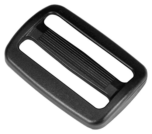1.5 inch Black Plastic Tri-glide Slide - 2 pieces - from - Tri Black