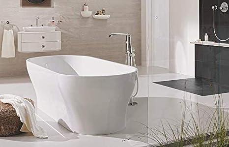 GROHE 23491EN1 Essence Floor Standing Tub Filler Brushed Nickel InfinityFinish