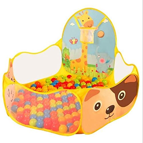 VQP Ocean Ball Pool Ball Pits Children Tent Wholesale Play House with Basketball Hoop ()