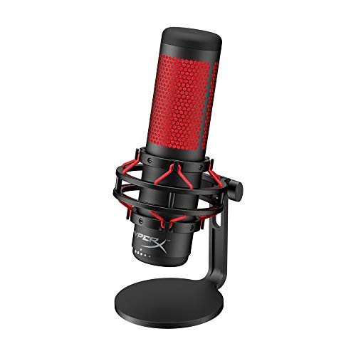 HyperX QuadCast - USB Condenser Gaming Microphone, for PC