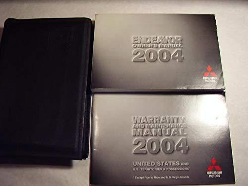 2004 Mitsubishi Endeavor Owners Manual (Manuals Mitsubishi Owners)