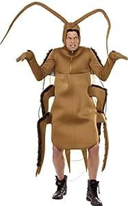 Smiffy's 36571 - Costume de cucaracha, color marrón