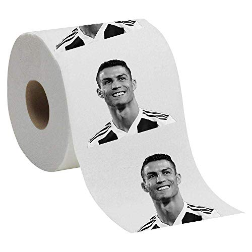 Papel higiénico con Cristiano Ronaldo