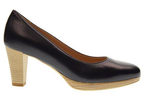 Azul Zapatos Tacón 204 Nero P805010d Medio De Giardini Dcollet Rqn6xOv8w