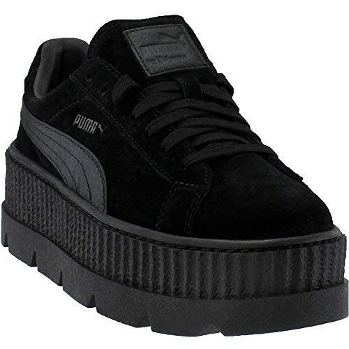 e5539c17e46 Puma x Fenty by Rihanna Women Cleated Creeper Suede Black puma Black Size  9.0 US