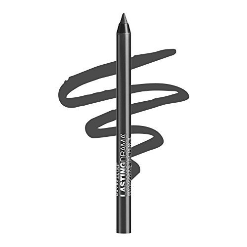 Maybelline New York Eyestudio Lasting Drama Waterproof Gel Eye Pencil, Smooth Charcoal, 0.04 (0.04 Ounce Eyeliner Pencil)