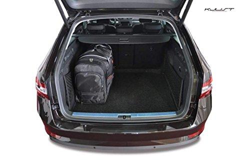 KJUST - CAR-BAGS AUTOTASCHEN MASSTASCHEN ROLLENTASCHEN SKODA SUPERB KOMBI, III, 2015-