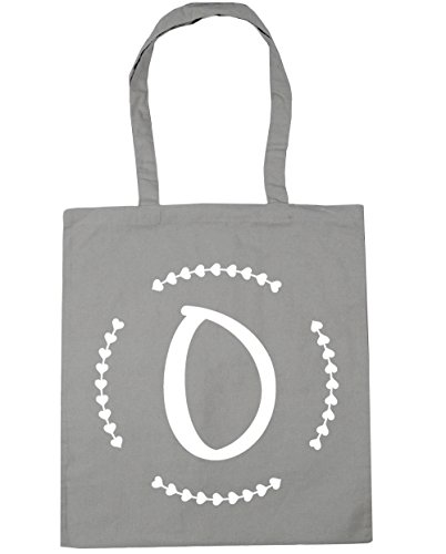 HippoWarehouse - Bolsa de playa de algodón  Mujer, gris grafito (Gris) - 13557-TOTE-Graphite grey gris claro