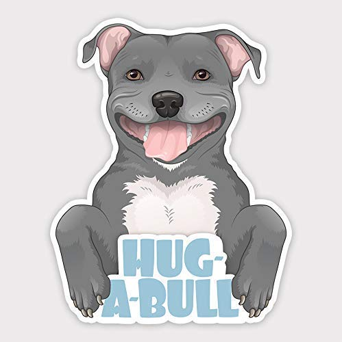 refrigerators I LOVE MY PIT BULL Car Magnet for car bumpers gifts