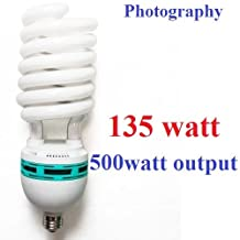CanadianStudio Pro NEW 135W CFL 5500K 92 CRI Fluorescent Continuous Pure White Light Output (Lm) 4800 Light Bulb