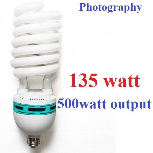 CanadianStudio Pro NEW 135W CFL 5500K 92 CRI Fluorescent Continuous Pure White Light Output (Lm) 4800 Light Bulb 1x135W