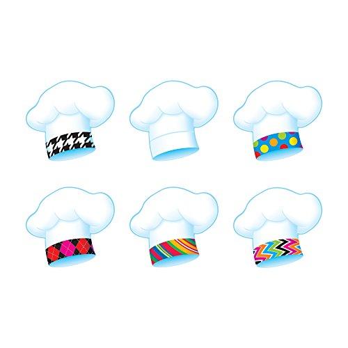 TREND enterprises, Inc. Chef's Hats The Bake Shop Classic Accents Var. Pk, 36 ct -