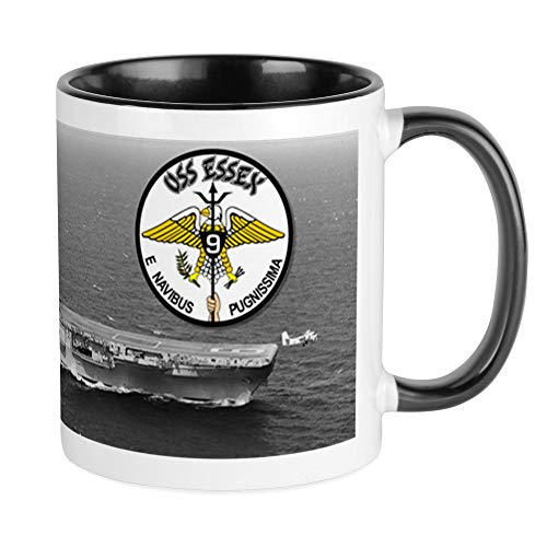 CafePress USS Essex CVA-9 CVS-9 Mug Unique Coffee Mug, Coffee Cup