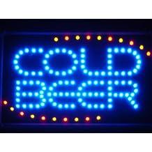 ADV PRO led004-b COLD BEER Bar OPEN LED Neon Light Sign