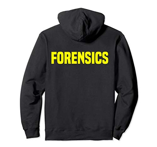 Forensics Crime Investigator Hoodie Detectives Policemen
