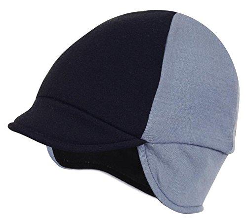 Pace Reversible Merino Wool Hat, Slate/Black, One Size
