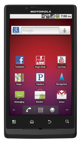 Motorola Triumph Prepaid Android Phone (Virgin Mobile) - Motorola Bluetooth Camcorder