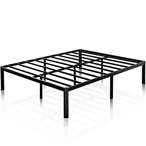 Zinus 16 Inch Metal Platform Bed Frame with Steel Slat Support / Mattress Foundation