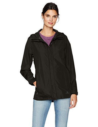 (White Sierra Guide 2.5 Layer Jacket, Black, Large)