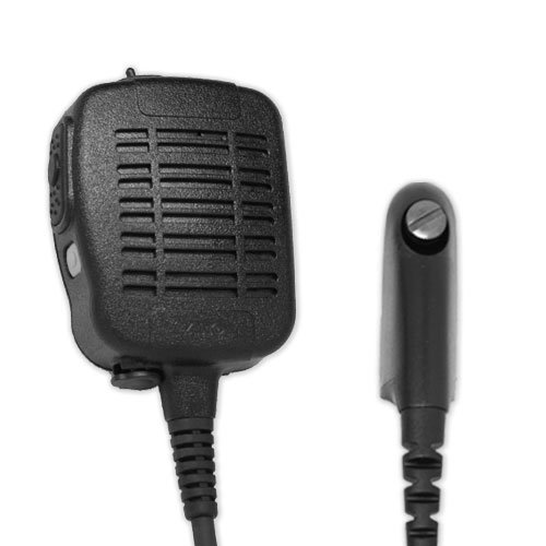 ARC S51035 Heavy Duty Anti-Magnetic Speaker Shoulder Microphone for Motorola Multi-Pin HT PR and MTX Series Two Way Radios (See List) by ARC