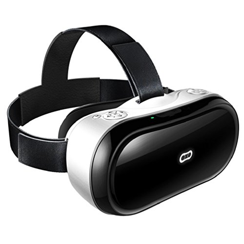 GBSELL 3D VR Glasses Headset Magicsee M1 All in One Virtual Reality Headset with 1080p WIFI Android 5.1 HDMI IN Higher FPS 2G/16G by GBSELL