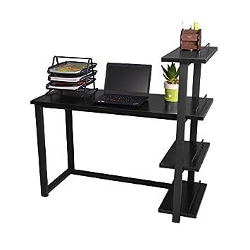 Amazonde Computertisch Bigtree 120 X 50 Cm Schreibtisch Mit 4