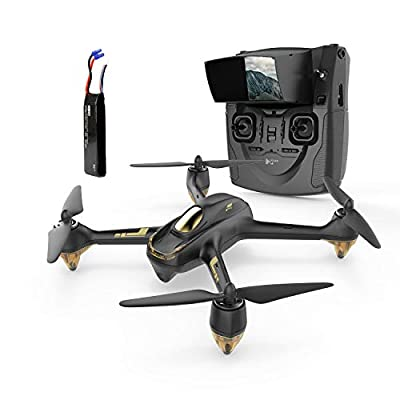 Hubsan H501S X4 BRUSHELESS FPV Quadcopter 1080p Camera GPS Automatic Return Altitude Hold Headless Mode Drone (black) from Hubsan