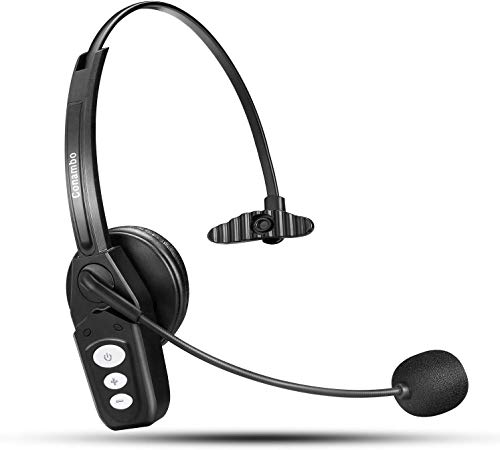 Bluetooth Headset V5.0, Pro Wireless Headset High Voice...