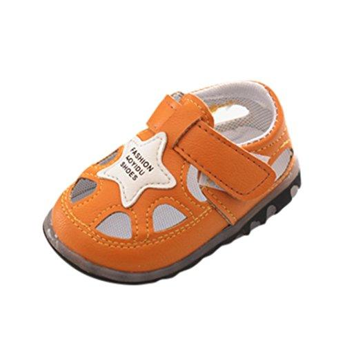 8801bab5cef6e Huhu833 Baby Schuhe Neugeborene Baby Star Sandalen AntiRutsch ...