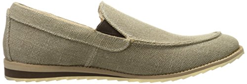 GBX Men's Flix Slip-on Loafer, Black, 8 M US Beige