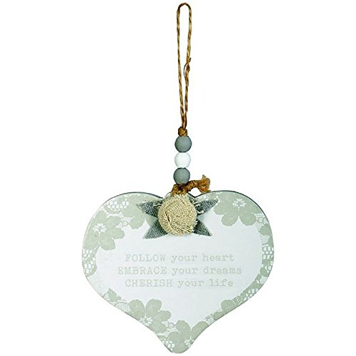 Carson Follow Your Heart Hanging Ornament