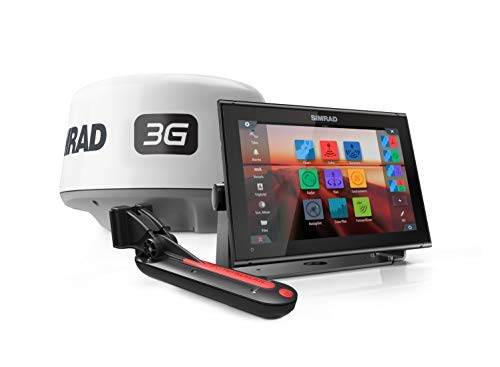 Simrad 12-inch Chartplotter and Radar Display. Comes with Broadband 3G Radar and Active Imaging 3-in-1 Transducer