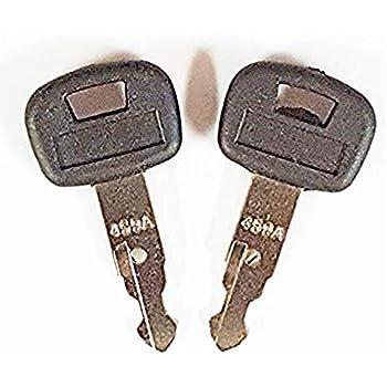 Amazon.com: Aree - Juego de 2 llaves de excavadora Kubota ...