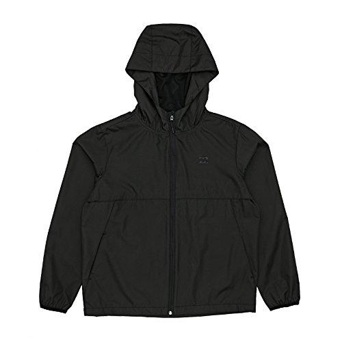 Billabong Jackets Transport Windbreake Jacket - Black (Billabong Kids Jacket)