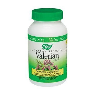 Nature's Way – Valerian Root, 530 mg, 180 capsules, Health Care Stuffs