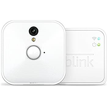 Blink Home Security Camera System with Motion Detection, HD Video, Battery-Powered, Cloud Storage for Your Smartphone - 1 Camera Kit