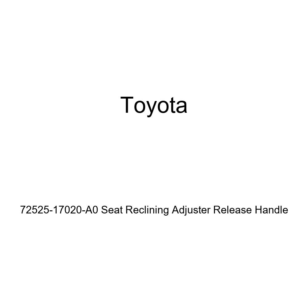TOYOTA Genuine 72525-17020-A0 Seat Reclining Adjuster Release Handle
