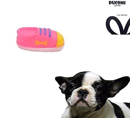Ducomi® Parc jeux–Jeu sonore pour chiens et chiots en souple caoutchouc pour favoriser la santé dentaire Shoe