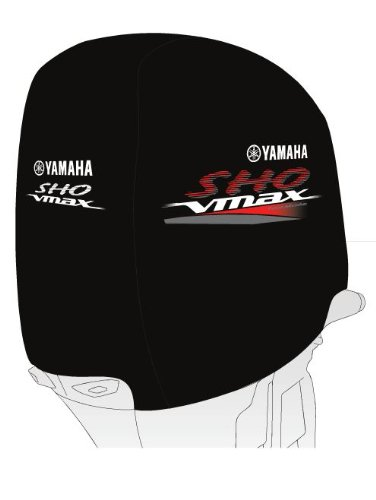 (Yamaha New OEM MAR-MTRCV-ER-SH Motor Cover, SHO MO MARMTRCVERSH)