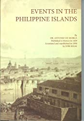 Historical events of the Phillipine Islands (Publications of the National Historical Institute)
