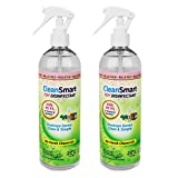 CleanSmart Toy Disinfectant CleanSmart Toy Disinfectant Spray, 16 Ounce Bottle (Pack of 2), Naturally Kills 99.9% of Germs, Bacteria Without Rinsing, No Chemical Residue