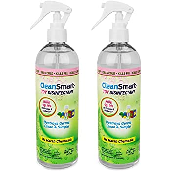 Amazon.com: cleansmart Chupete Sanitizer Spray, Mata el 99,9 ...