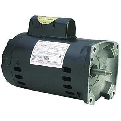 Pool Pump Motor, 2 HP, 3450 RPM, 230VAC