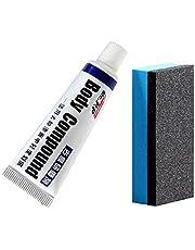 Body Compound środek do usuwania zarysowań na karoserii samochodu, zestaw do naprawy wosku, do lekkich zadrapań, lakieru samochodowego, naprawy