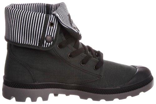 Palladium - Zapatillas de deporte de lona para hombre Negro