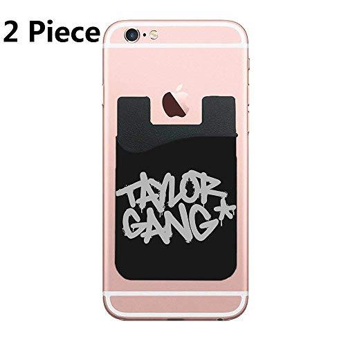 Taylor Gang Premium PU Phone Card Holder Stick On Wallet for iPhone and Android Smartphones Kangaroo]()