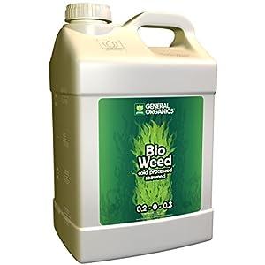 General Hydroponics 726833 Gh5345 Organics Bioweed Fertilizer, 2.5 Gallon