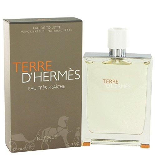Térre D'hérmes Côlogne For Men 4.2 oz Eau Tres Fraiche Eau De Toilette Spray + a FREE 2.6 oz Deodorant Stick by Hérmes (Image #2)